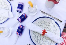 Easy, Elegant Fourth of July / It's never too soon to start planning for the perfect Fourth of July barbecue. This year, ditch the cheesy decorations and go for fun and elegant. With the help of VELCRO® Brand and their perfect Fourth of July themed products, it's never been easier!