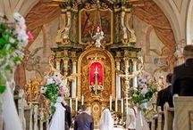 Nasze dekoracje kościoła / Kościół w Grodowcu