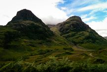 Scottish Highlands by Motorhome / Stunning pictures of scenery around scotland by motorhome