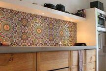 Cocinas con mosaico
