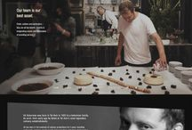 Food websites inspiration