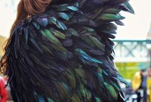 Feathers / I love feathers of all kinds.  And love designing jewelry with them.