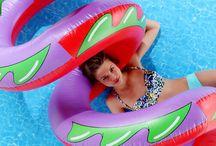 bóias de piscina