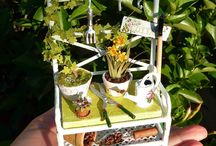 Garden Miniatures Dollhouse / Feel free to repin all you want...  My board is your board. / by Elizabeth