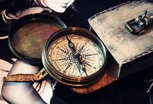 Compass, map, adventure (mostly tattoos now)