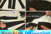 Garments trousers quality check