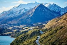 Beautiful New Zealand / Places I have visited and places I want to go to