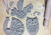 keramika - drobnosti vykrajované