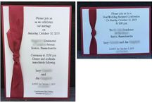 Invitations / Receiving a handmade invitation is such a special event.  Knowing that they weren't mass produced, but made one-by-one to the exact specifications of the honoree makes the invitation so much more personal. I hope you like browsing these invitations.  I'm happy to answer any questions you may have about any of these projects. You can email me at amascio@comcast.net. Check out my blog at: www.stampwithanna.blogspot.com Shop with me at: http://www.stampinup.net/esuite/home/annamasciovecchio/