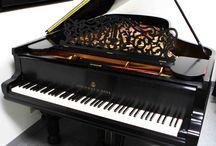Zongorák / Húroshangszerek.