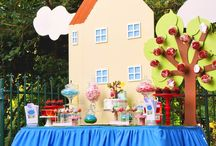 Peppa Pig 3rd Birthday Party / Ideas for Sebastien's third birthday party / by Jaime Carter