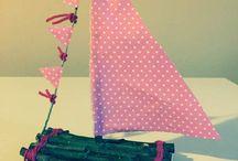 Creare una barca a vela fai da te / Creare una barca a vela fai da te. Idea creativa decorare un piccolo angolo di casa.  #barca #faidate #handmade #riciclo #diycrafts #mycandycountry  Seguimi su: www.mycandycountry.it