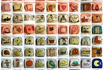 Father of the year... / David Lafierre, diseñador gráfico de USA, lleva desde 2008 dibujando las bolsas de sándwich de las loncheras de sus hijos, que no ven el dibujo hasta la hora de comer…   Toda una liturgia que he llevado a este artista a crear más de 1.100 dibujos… Todo para que sus hijos se diviertan con la comida! Vaya padrazo!