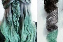 Colored hair inspo