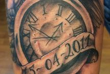Time tattoos
