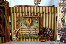 vintage circus nursery / found out we are having a little boy and the theme will be circus my wife said but for me a vintage circus its way coller...
