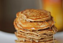 """Pancakes, Crepes and Waffles / Eggs, milk and flour combined in different ratios is a wonderful combination.  I love them all-crepes, waffles and pancakes.  This is a collection of recipes that include all types of eating styles.  The pictures are breath taking and the inspiration for each recipe gave me an """"ahhhh"""" moment.  Enjoy!"""