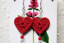 CROCHET HEARTS / LOVELY IDEAS FOR DIFFERENT PROJECTS