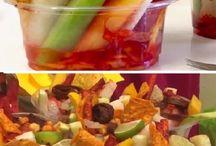 Vasos de fruta