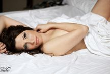 Boudoir - White Sheet / A selection of boudoir images incorporating a white sheet