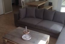 Steenschot/Pallet tafel