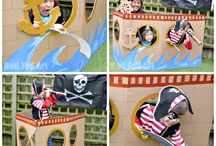 3th birthday- pirates party