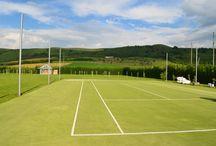 tennis court  /