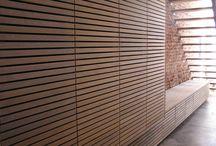 Interieurs / Vaste interieurs, ingemaakt meubilair en totaalprojecten geheel in eigen atelier vervaardigd.