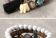Bohemian bracelets - for the girls