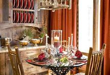 Dining room / A place where to eat... A lovely room. / by Retete TV