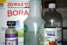 DIY: Household Products & Cleaning Tips / by Becky Engle