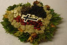 Grabschmuck / Habt ihr vielleicht schon ein Grabgesteck selbst gemacht?