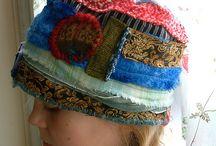 шапки -лоскуты