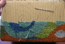Weaving, tapestry, embroidery