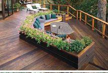 огород в садовой мебели