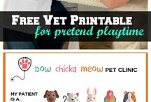 Heart in Kindy - Pets Vets / Pets and Vet Theme