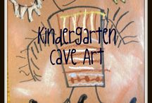 Cave art/ primative