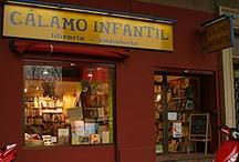 Cálamo Infantil / Somos una librería especializada en infantil y juvenil y además, tenemos un magnífico fondo de literatura en francés, en inglés, alemán...