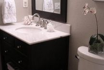 bathroom re-do / by Carolyn McMullen