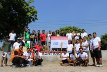 FIFTH DAY , BOAT RACE AT BANJIR KANAL RIVER! / IHG Semarang had fun at Banjir Kanal River, Semarang. We collected 116 KM for IHG Race Around the World!! #ihgshelterinastorm #ihgracearoundtheworl