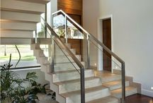 Guarda corpo - escada