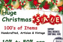SPECIAL T Christmas Gallery / Great gift and holiday ideas from Etsy SpecialT artisans and vintage connoisseurs ON SALE now!  Sustainable is Attainable when you Shop Small!