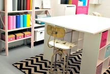 Create | Create a Craft Room / Inspiration for Creating a craft room in your home