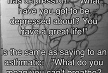 depression / by Rebecca Pace