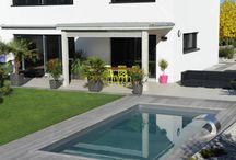 idee amenagement exterieure piscine