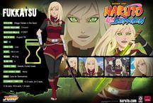 Fichas de Naruto