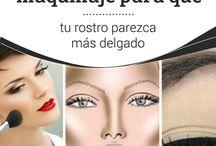 Maquillaje cara, cejas, ojos y