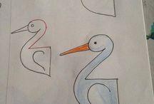Zeichnen einfach und kreativ