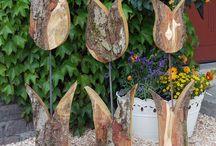 Holz bastelei
