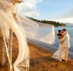 "Beach Weddings in Lake Tahoe / Lake Tahoe, check.  Beautiful views, check. Fabulous locations, check.  Stunning wedding on the beach, check.  We hear it all the time, ""I want a beach wedding in Lake Tahoe!""  While all of our wedding venues are great choices, there is something special about getting married with your toes sinking in the sand.  From simple to luxurious, these locations fit the bill.  Have your Lake Tahoe wedding at one of these three locations, all perfect for beach weddings!"